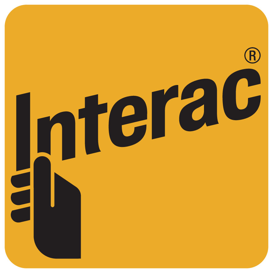 We accept Interac Direct